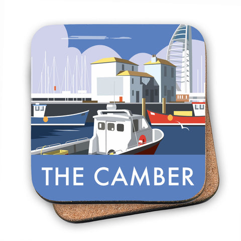 The Camber, Portsmouth MDF Coaster