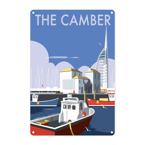 The Camber, Portsmouth Metal Sign
