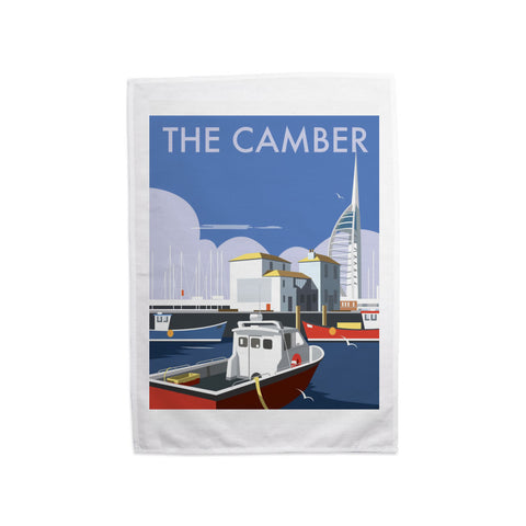 The Camber, Portsmouth Tea Towel