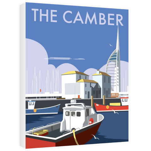 The Camber, Portsmouth Canvas