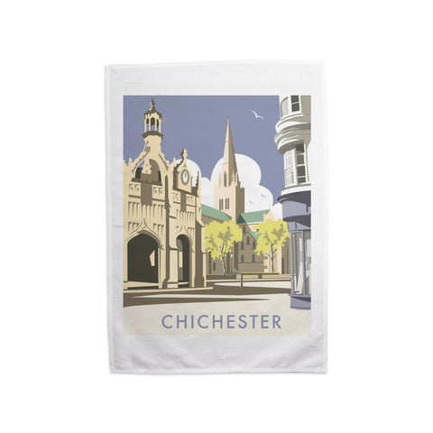 Chichester Cathedral Tea Towel