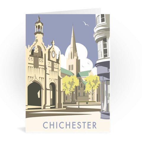 Chichester Cathedral Greeting Card 7x5