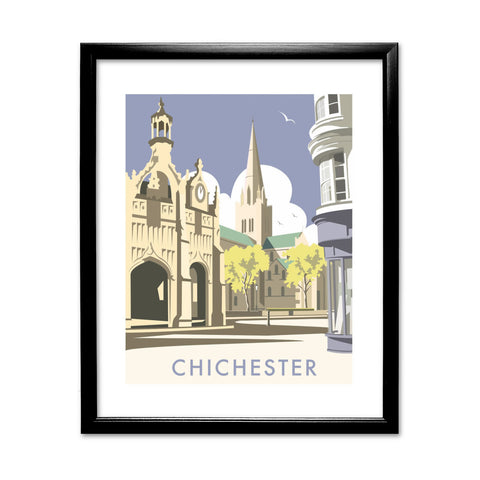 Chichester Cathedral 11x14 Framed Print (Black)