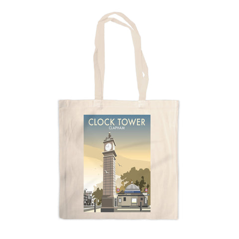 The Clock Tower, Clapham, London Canvas Tote Bag