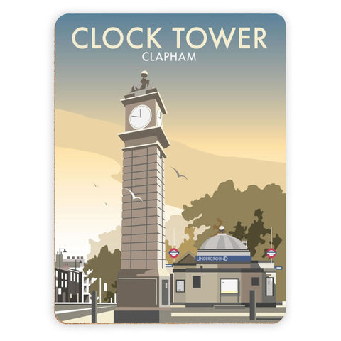 The Clock Tower, Clapham, London Placemat