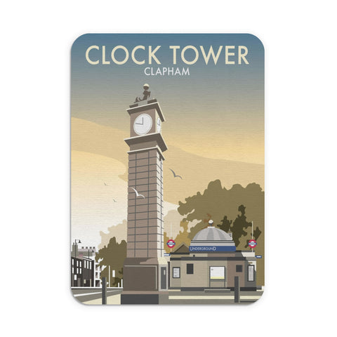 The Clock Tower, Clapham, London Mouse Mat