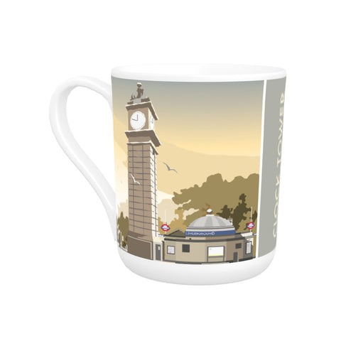 The Clock Tower, Clapham, London Bone China Mug