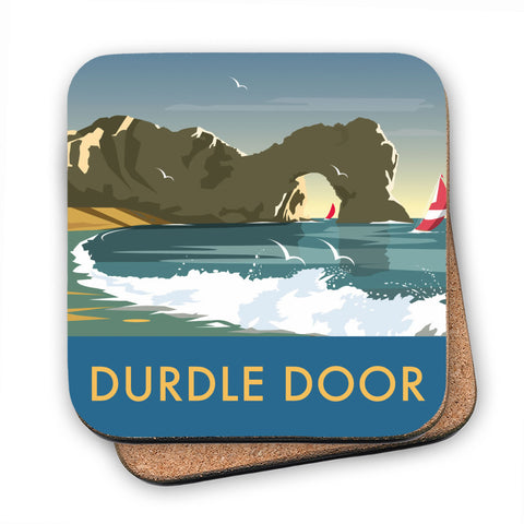 Durdle Door, Dorset MDF Coaster