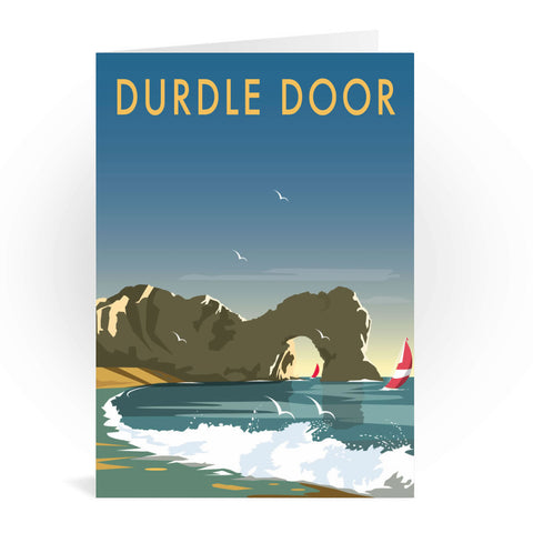 Durdle Door, Dorset Greeting Card 7x5