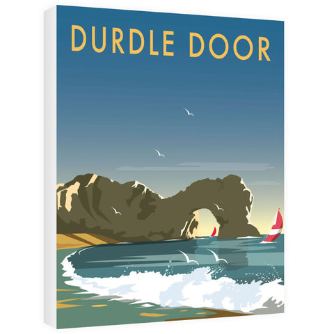 Durdle Door, Dorset Canvas