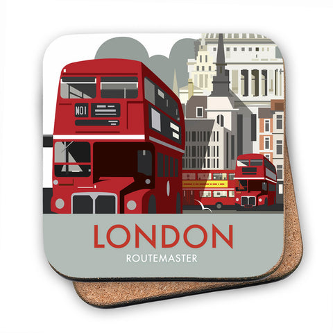 London Routemaster MDF Coaster
