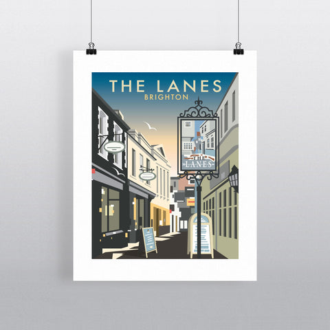 The Lanes, Brighton Fine Art Print