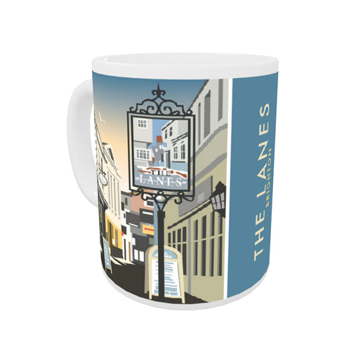 The Lanes, Brighton Mug
