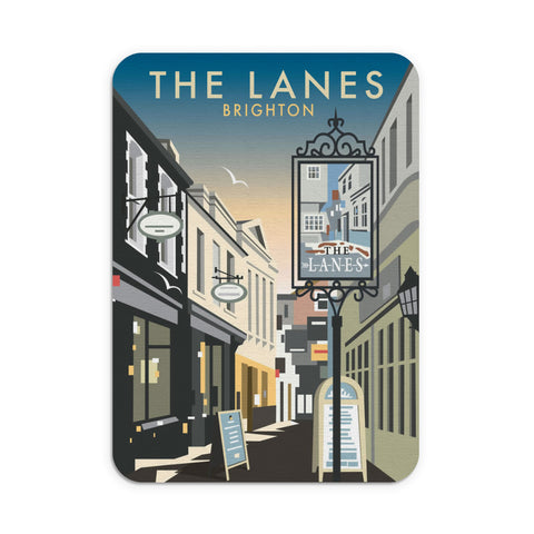 The Lanes, Brighton Mouse Mat