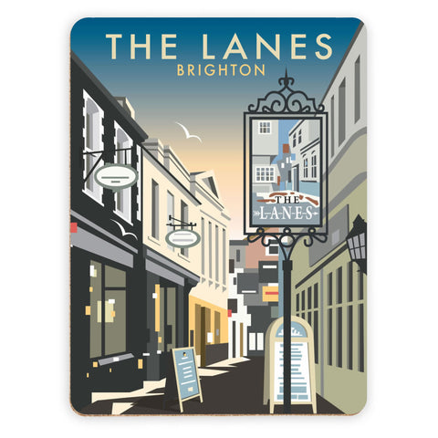 The Lanes, Brighton Placemat