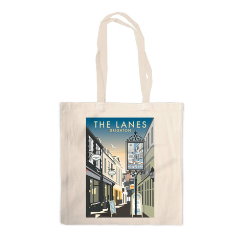 The Lanes, Brighton Canvas Tote Bag