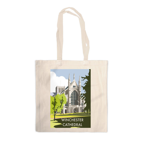 Winchester Cathedral Canvas Tote Bag