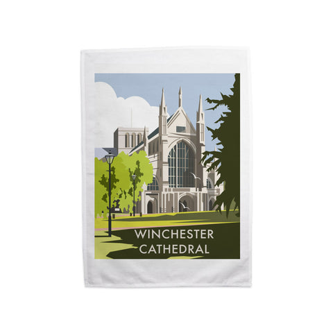 Winchester Cathedral Tea Towel