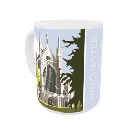 Winchester Cathedral Coloured Insert Mug