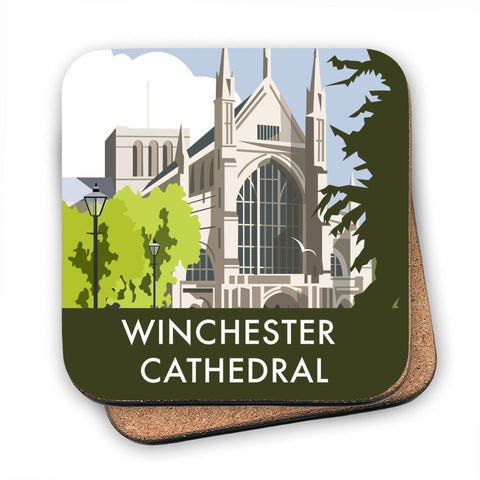 Winchester Cathedral MDF Coaster