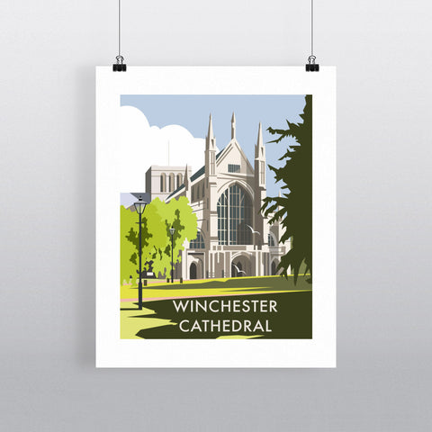 Winchester Cathedral Fine Art Print