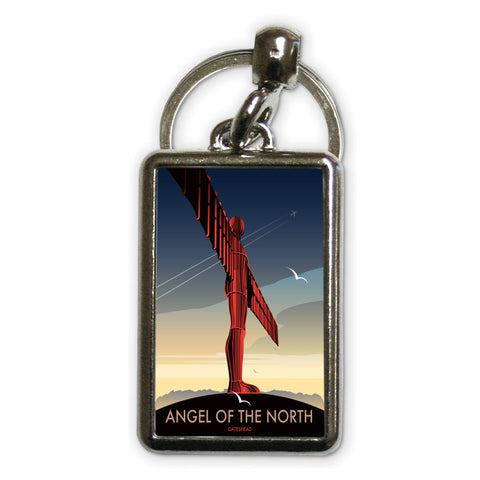 Angel of The North, Gateshead Metal Keyring
