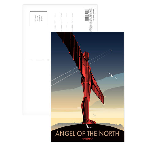Angel of The North, Gateshead Postcard Pack