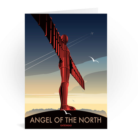 Angel of The North, Gateshead Greeting Card 7x5