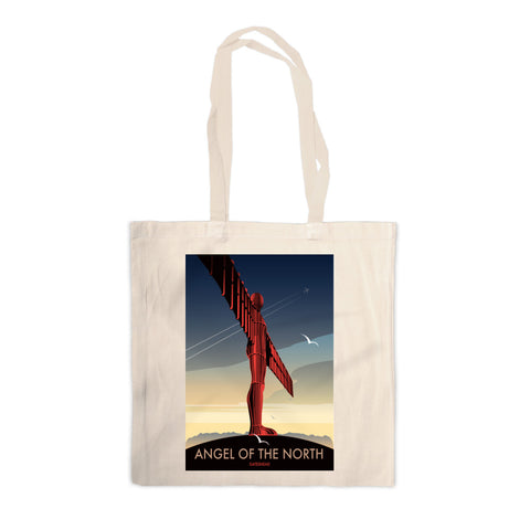 Angel of The North, Gateshead Canvas Tote Bag