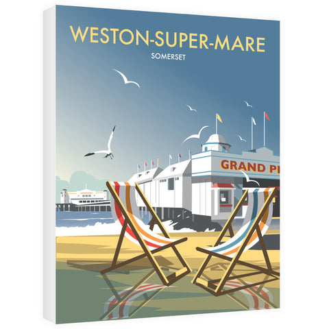 Weston Super Mare Canvas