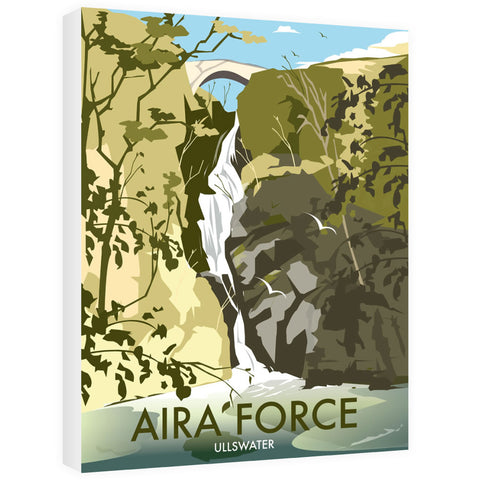 Aira Force, Ullswater Canvas