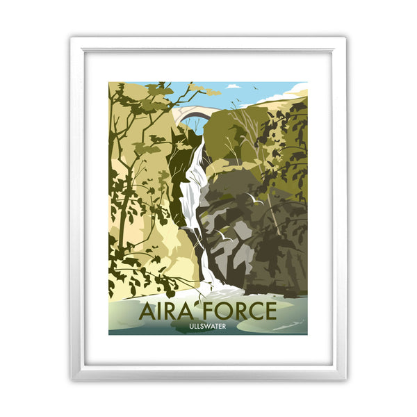 Aira Force, Ullswater 11x14 Framed Print (White)