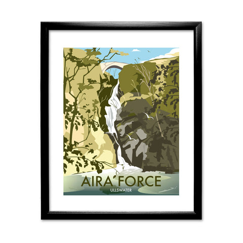 Aira Force, Ullswater 11x14 Framed Print (Black)