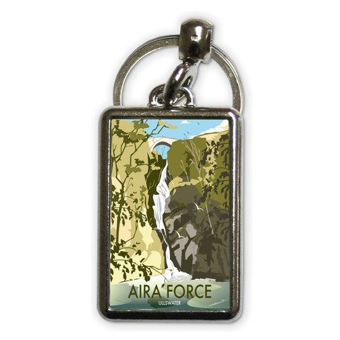 Aira Force, Ullswater Metal Keyring