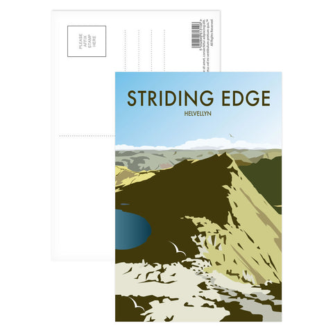 Striding Edge, Helvellyn Postcard Pack