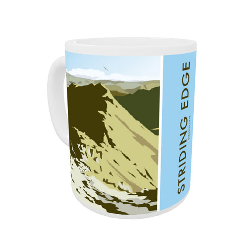 Striding Edge, Helvellyn Coloured Insert Mug