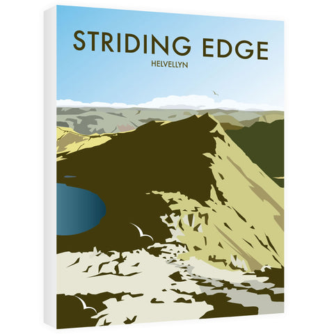 Striding Edge, Helvellyn Canvas