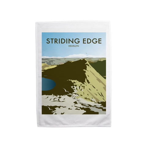 Striding Edge, Helvellyn Tea Towel