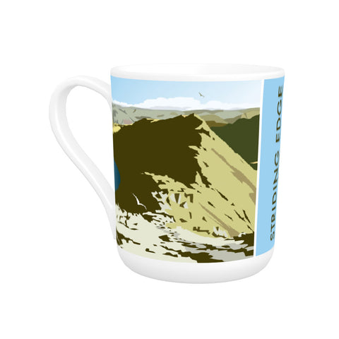Striding Edge, Helvellyn Bone China Mug