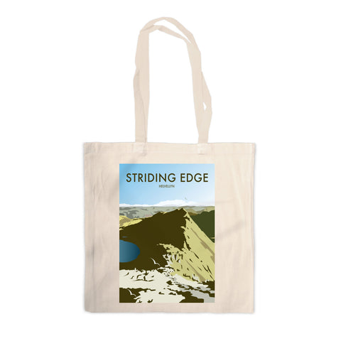 Striding Edge, Helvellyn Canvas Tote Bag