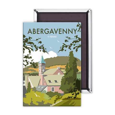 Abergavenny, South Wales Magnet