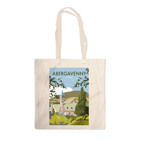 Abergavenny, South Wales Canvas Tote Bag