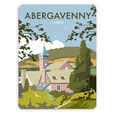 Abergavenny, South Wales Placemat