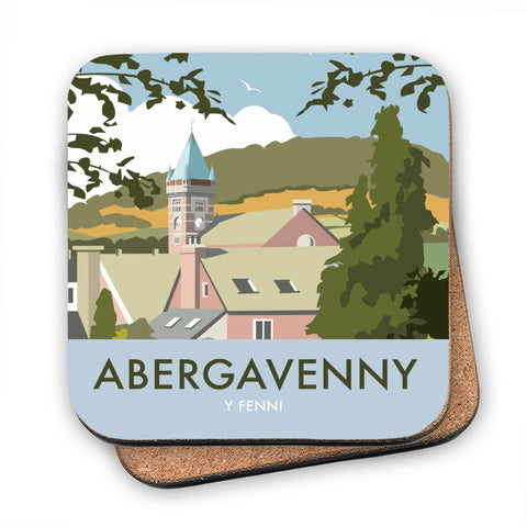 Abergavenny, South Wales MDF Coaster