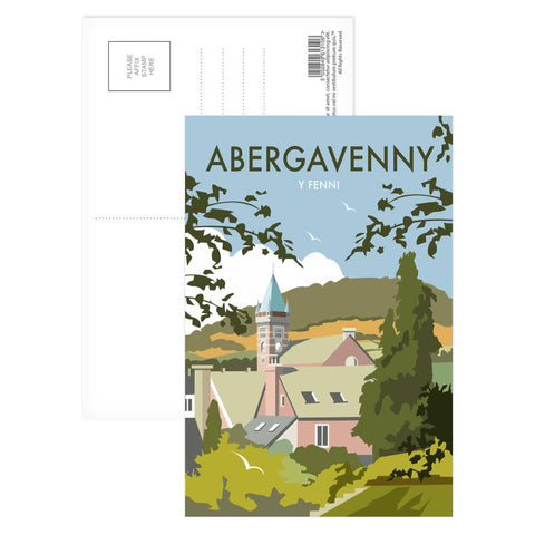 Abergavenny, South Wales Postcard Pack