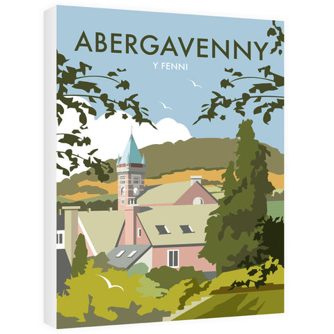 Abergavenny, South Wales Canvas