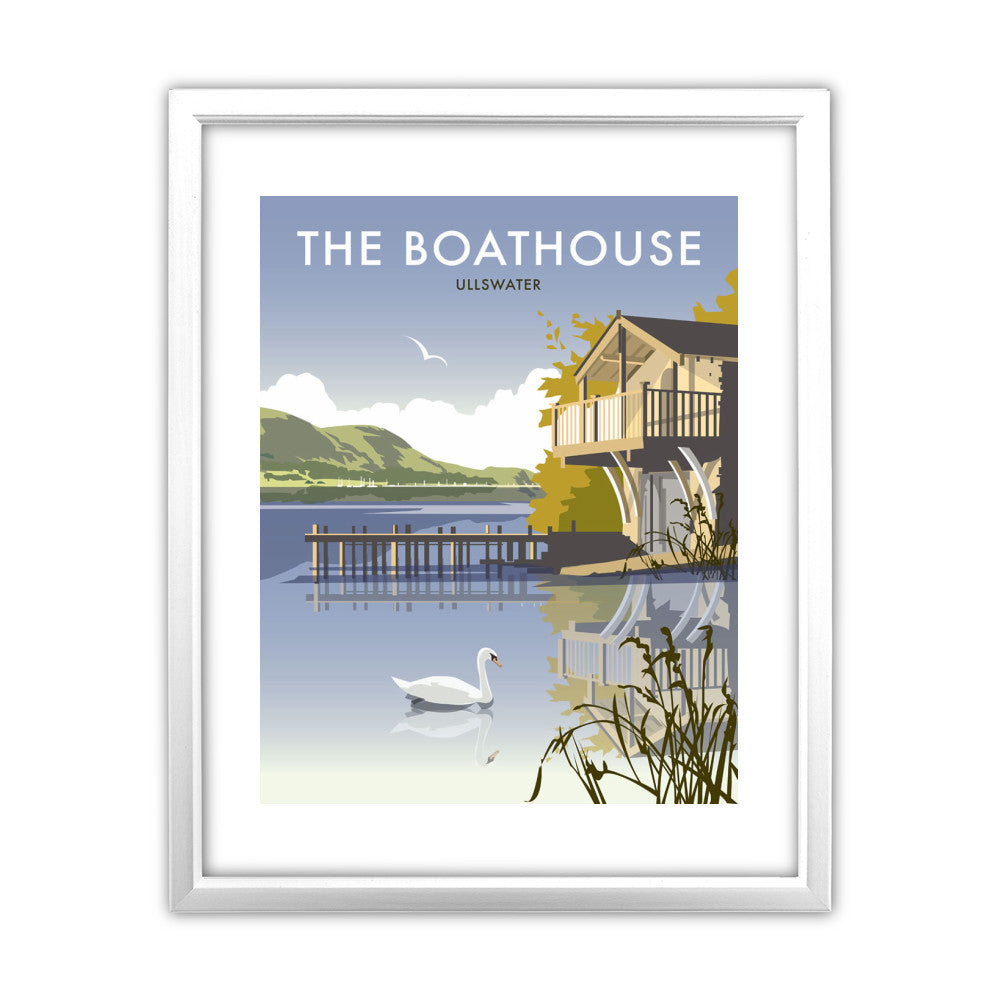 The Boathouse, Ullswater - Framed Print – Love Your Location