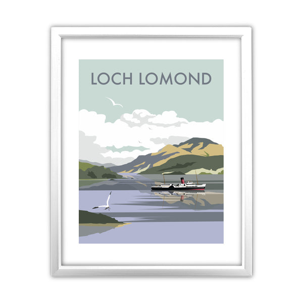 Loch Lomond 11x14 Framed Print (White)