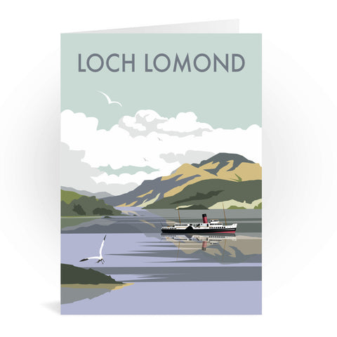 Loch Lomond Greeting Card 7x5