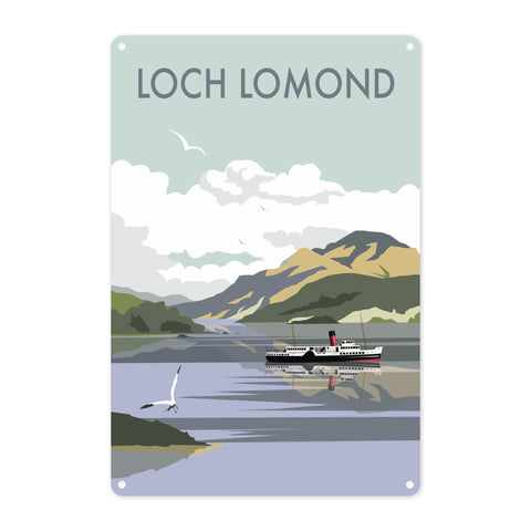 Loch Lomond Metal Sign